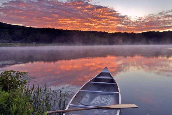 Rangeley Lake Canoe